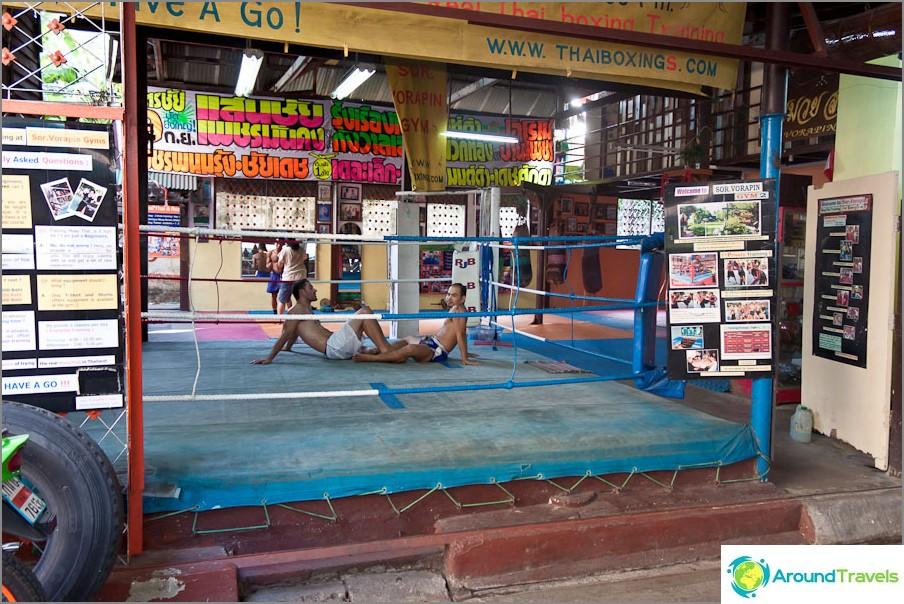 Thaimaan nyrkkeilyosasto