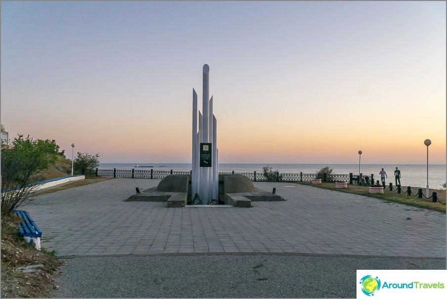 Admiral Nakhimovin kuolleiden monumentti