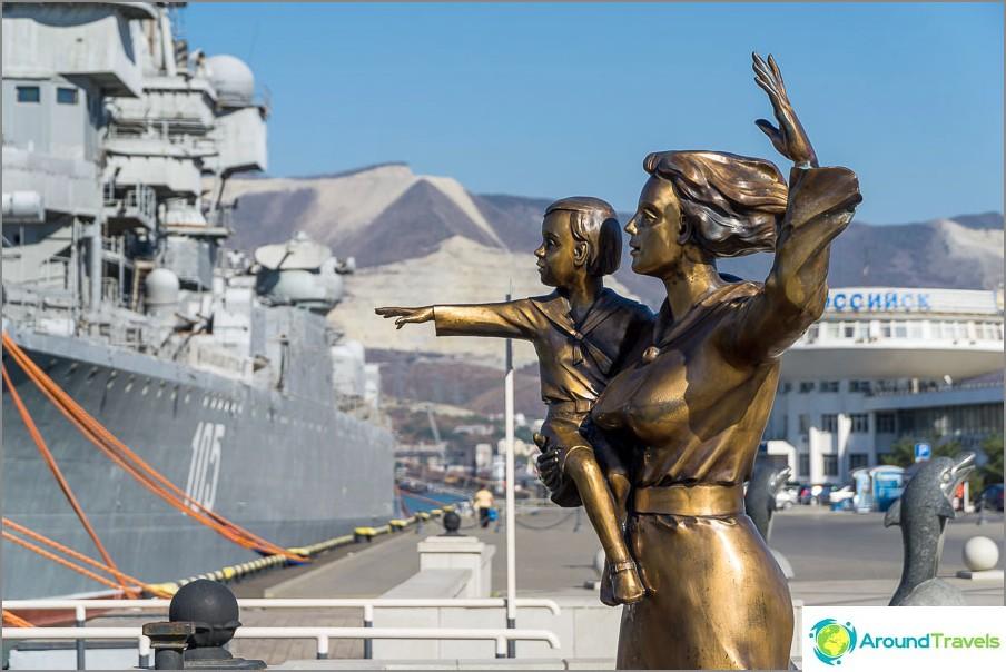 Monumentti merimiehen vaimo
