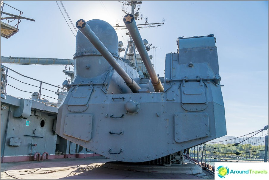 Kaksi-aseinen kansi torni asennus SM-5-1C