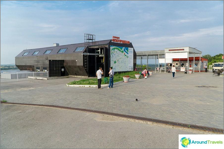 Nižni Novgorod -asema, lähtö täältä