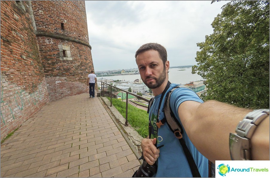 Kävely Kremlin ja Nižni Novgorodin ympäri