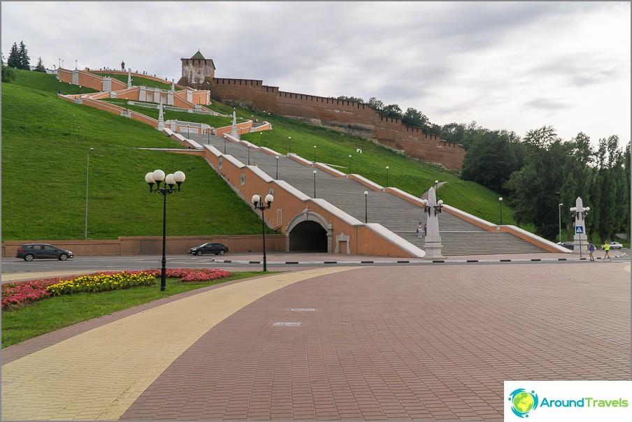 Chkalovskaya tikkaat