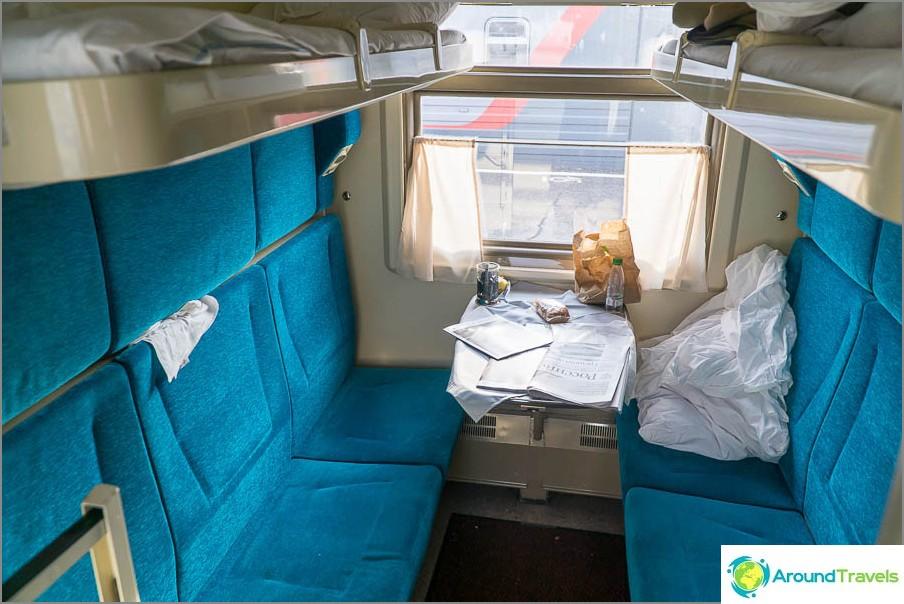 Coupe junalla Nižni Novgorod - Moskova