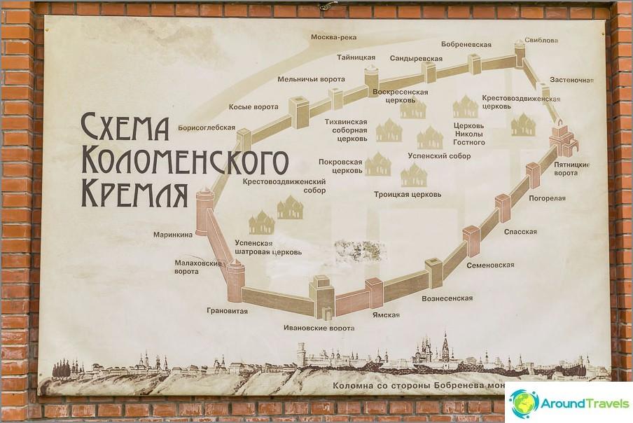 Pink näyttää mitä Kremlistä on jäljellä Kolomnassa