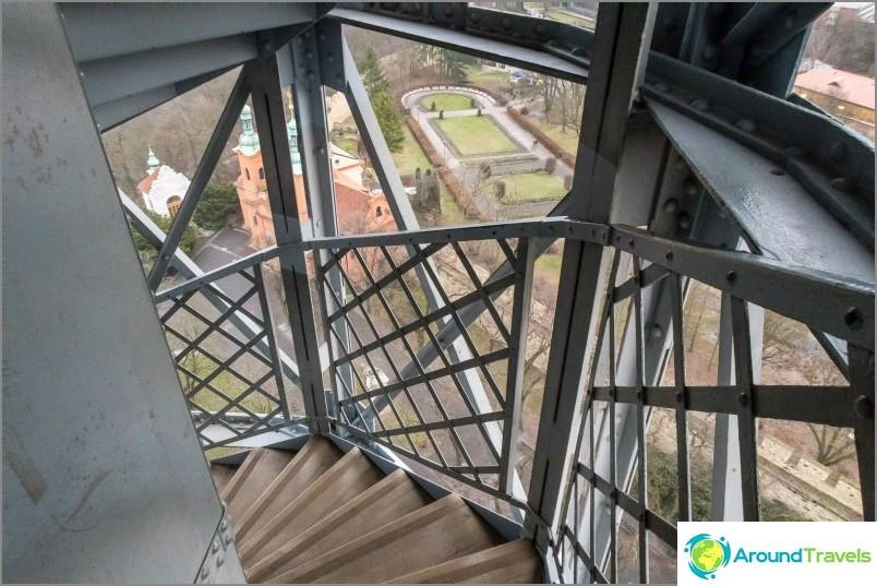Petrin Tower - Eiffel-torni Prahassa