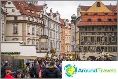 Prahan vanhankaupungin aukio - kaupunki kaupungissa