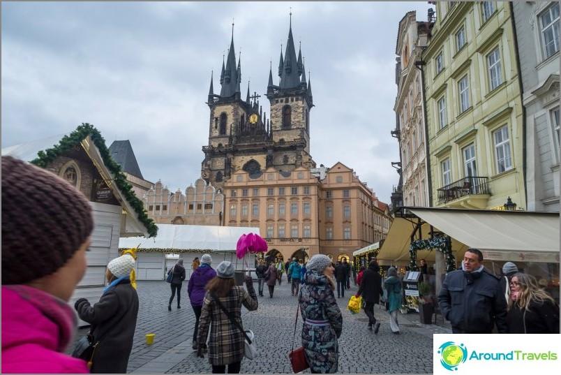 Prahan vanhankaupungin aukio