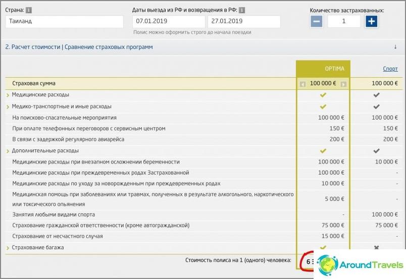 ERV цена в евро на официалния уебсайт