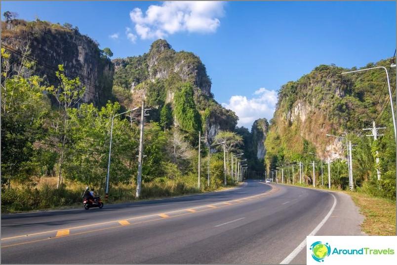 Krabin maakunta on erittäin kaunis