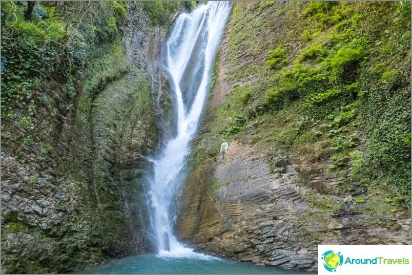 Ореховски водопад в Сочи