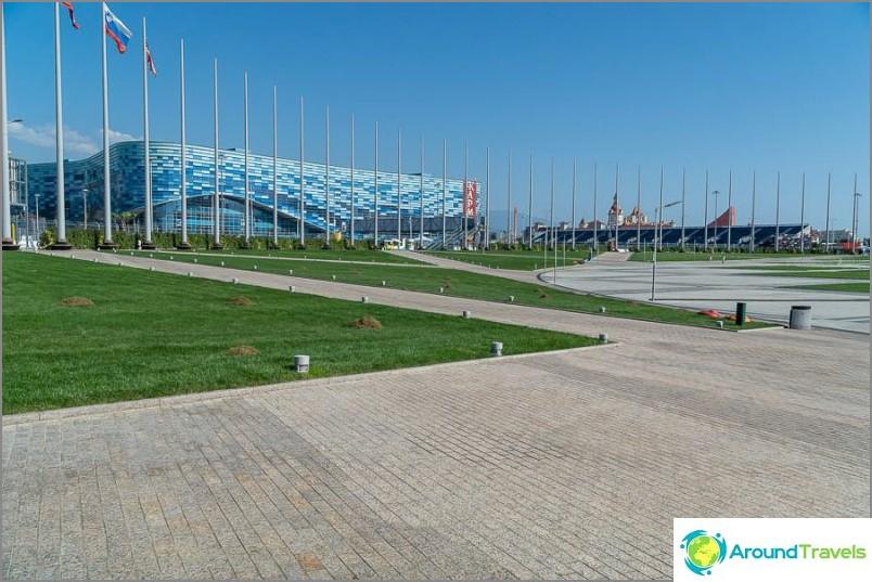 Olympiapuisto Sotšissa