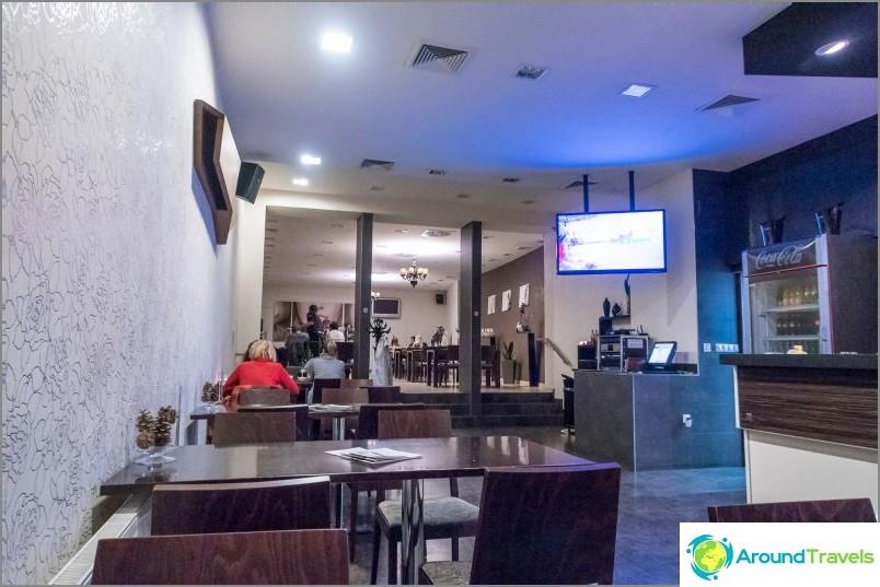 Porta Cafe Liberecissä - syö ja mene