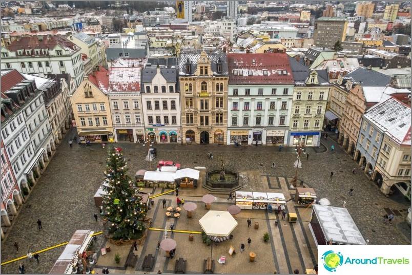 Liberecin tärkein nähtävyys on kaupungintalo