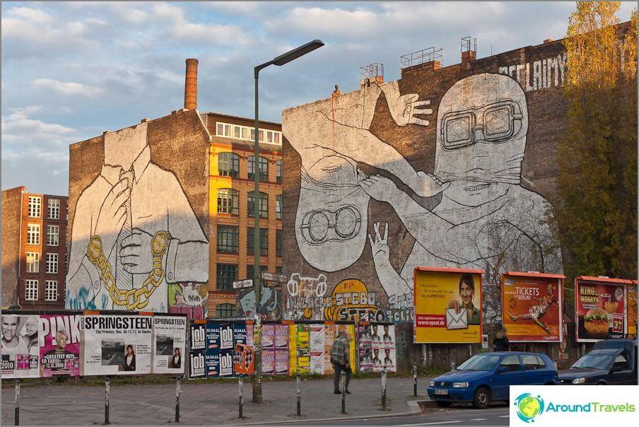 Графити от Берлин.