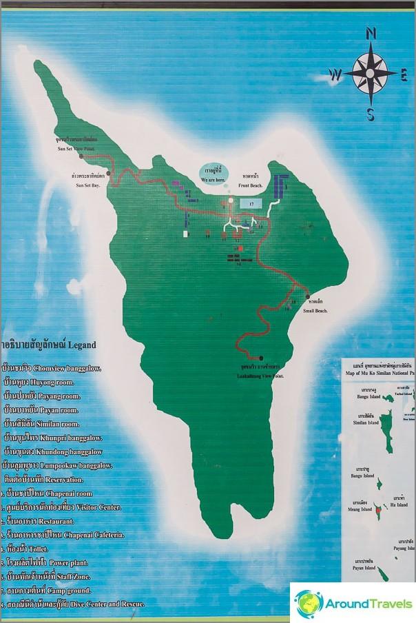 Saaren kartta 4