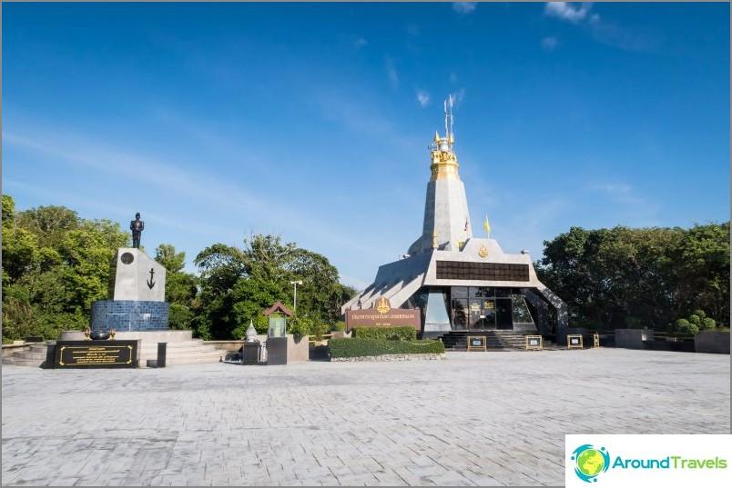 Monumentti Crom Luang Chumphonista Phuketissa