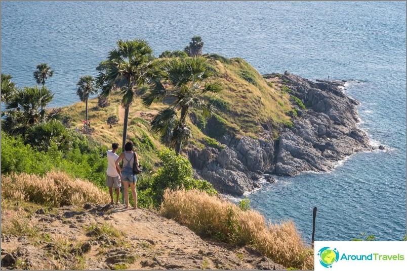 Cape Promtep nähdään Phuketissa