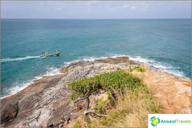 Phuketin eteläisin piste