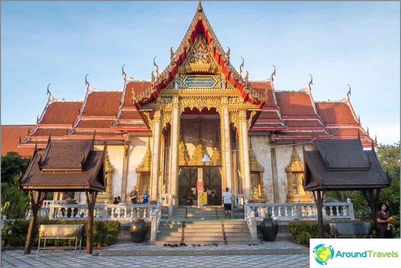 Wat Chalong Phuketissa