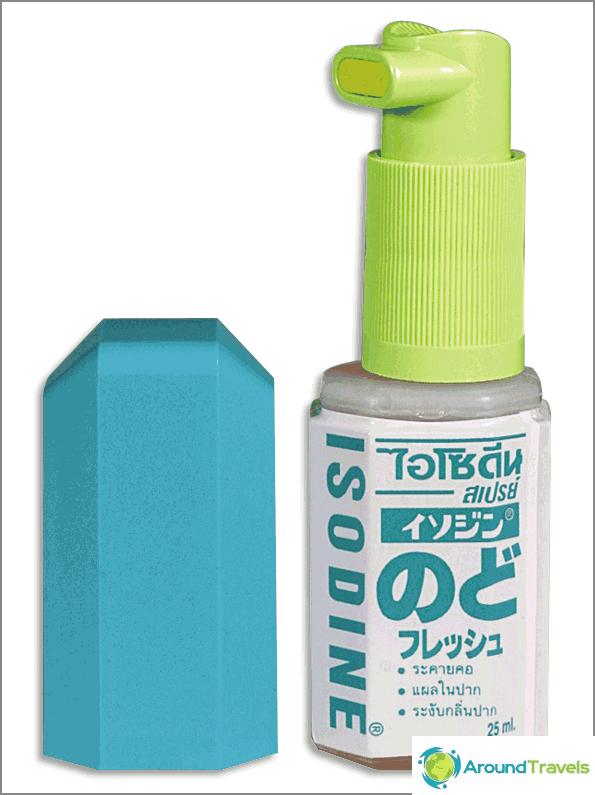 Isodine Spray - Gurgelspray