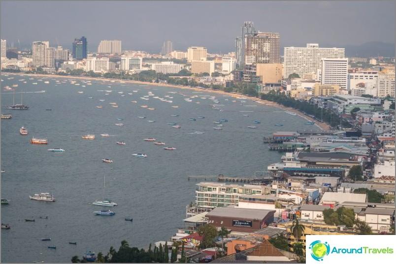 Pattayan paras näköalatasanne - näkymä koko kaupunkiin