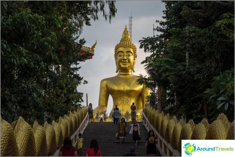 Big Buddha -temppeli Pattayassa