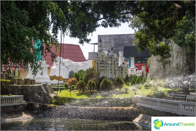 Парк Mini-Siam в Патая - световни мини атракции