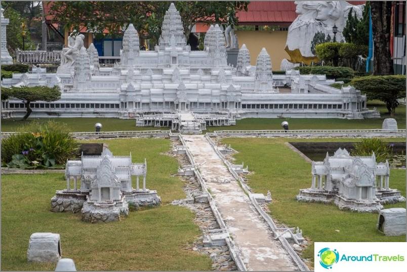 Оформление Ангкор Ват