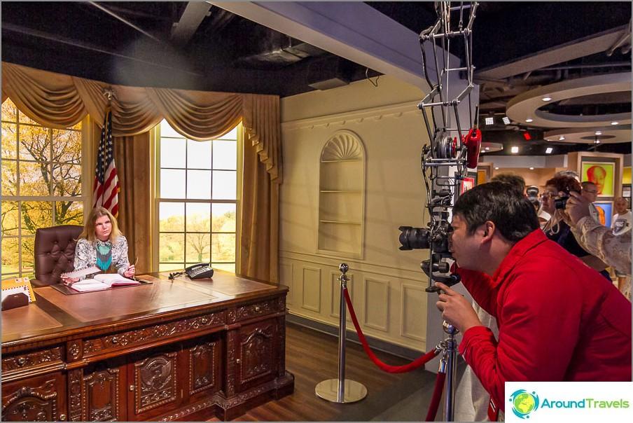 Tämä on toimisto Yhdysvaltain Valkoisessa talossa