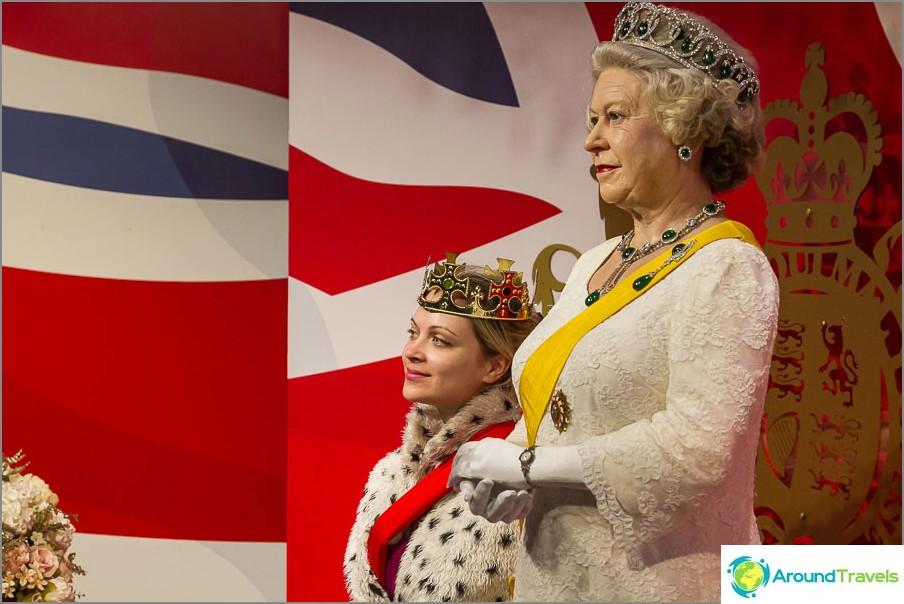 Mistä kuningatar pidät enemmän?
