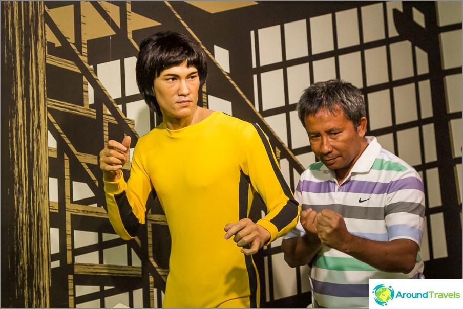 Bruce Lee Madame Tussaudsissa