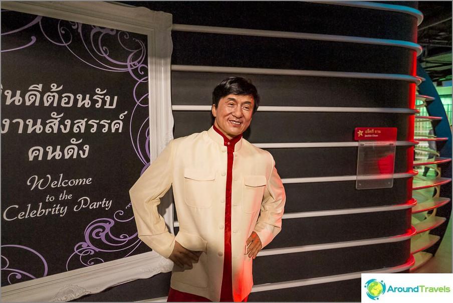 Jackie Chan Madame Tussaudsissa