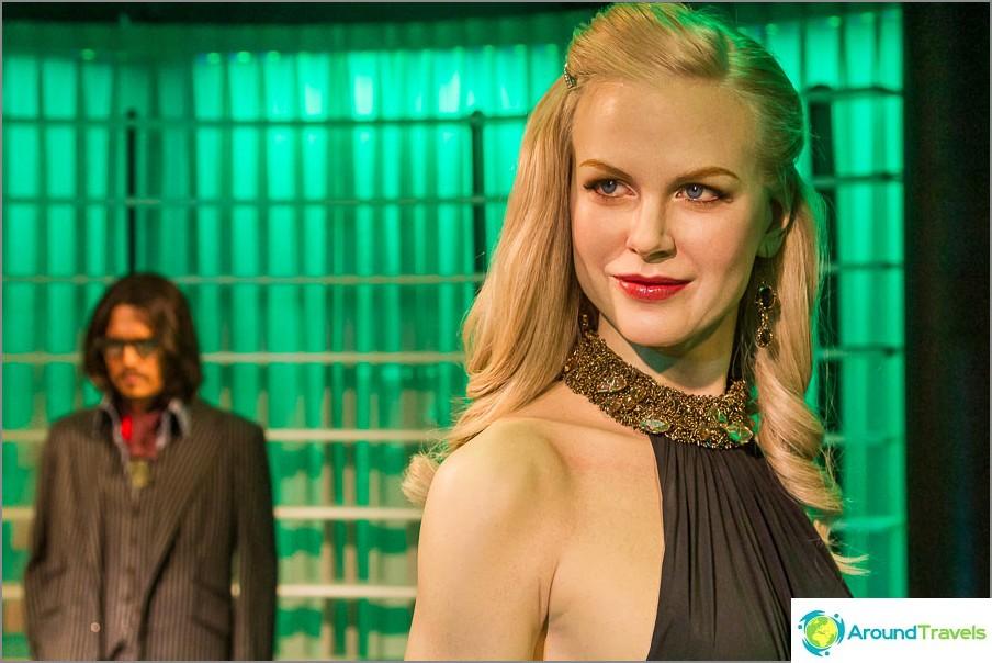 Nicole Kidman on suora todellinen, kuten elävä
