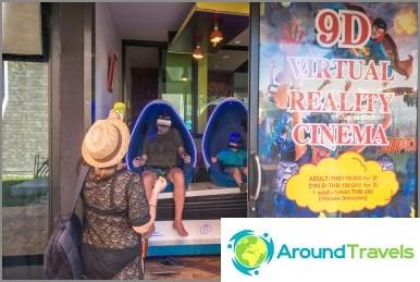 Käänteinen talo Phuketissa - viihde lapsille ja selfies