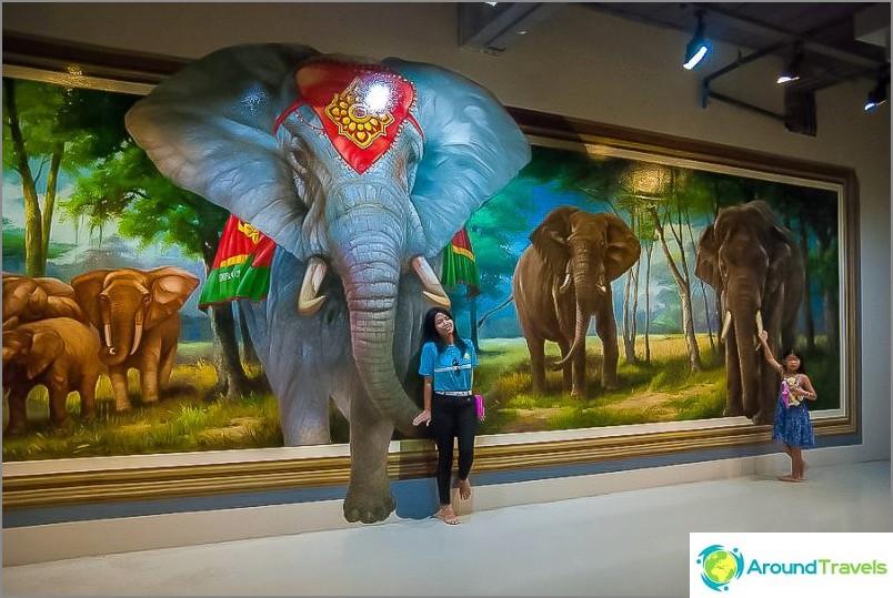 Joskus kutsutaan myös 3D-museoksi Pattayassa
