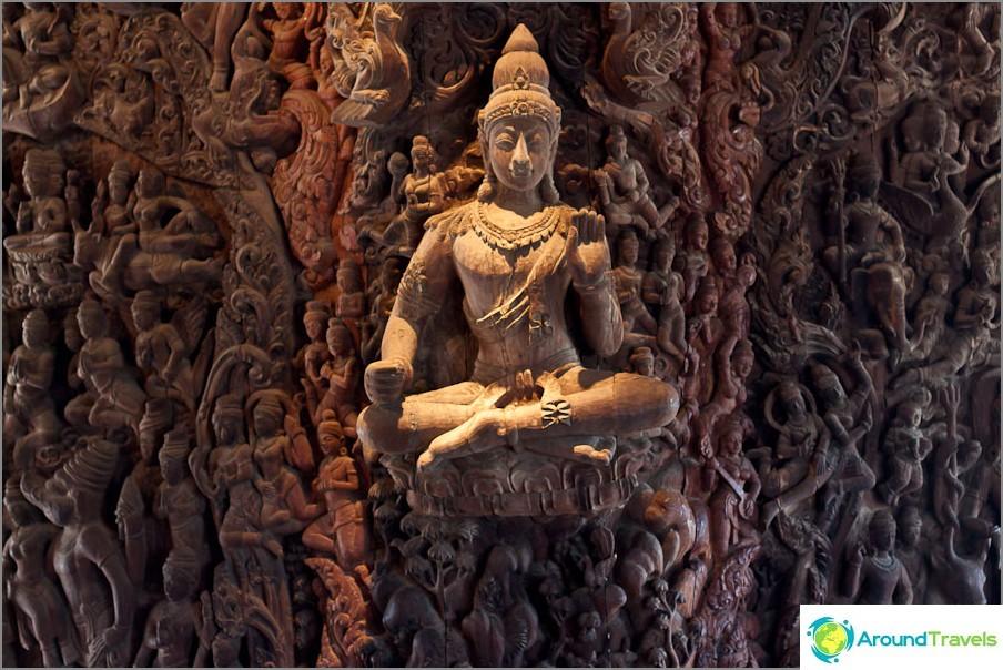 Buddha nousee vain ilmassa