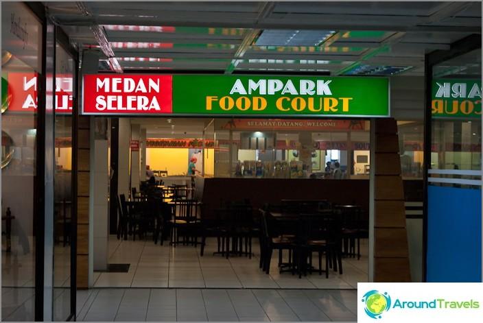 Ruokaravintola Ampang Parkin ostoskeskuksessa
