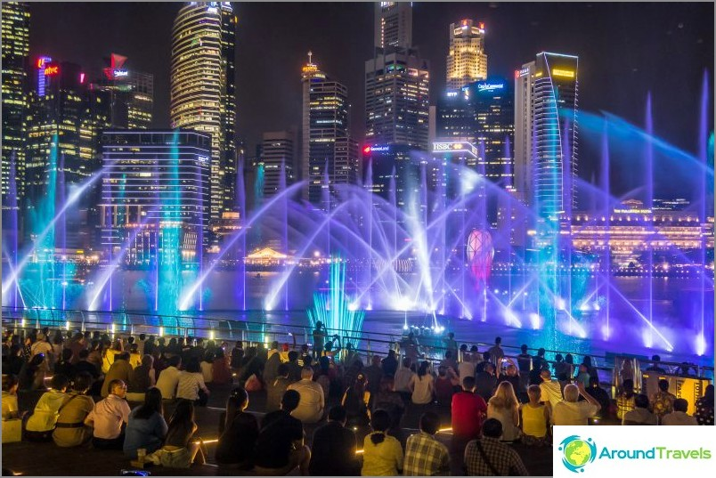 Spectra Laser Show Marina Bayssä