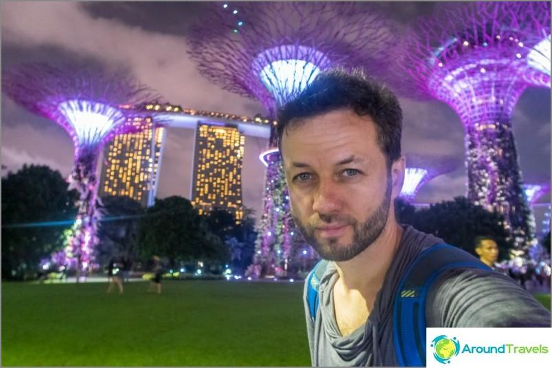Voit myös nähdä Marina Bay -hotellin