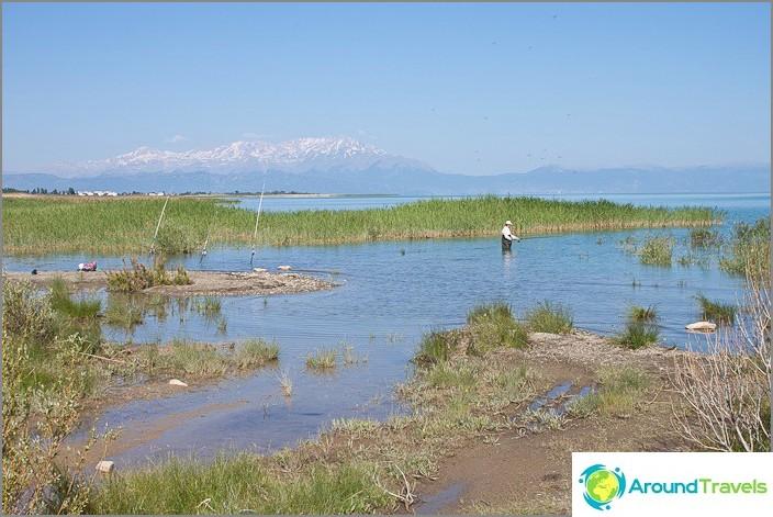 Beysehir on järvi Turkissa.
