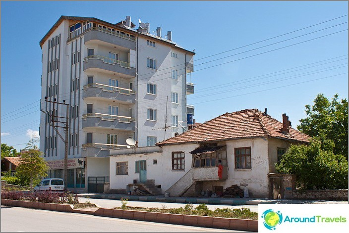 Beysehirin kaupunki. Turkki.