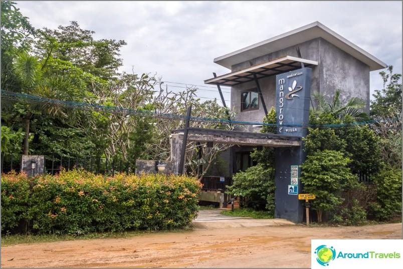 Hotelli Mangrove Villa