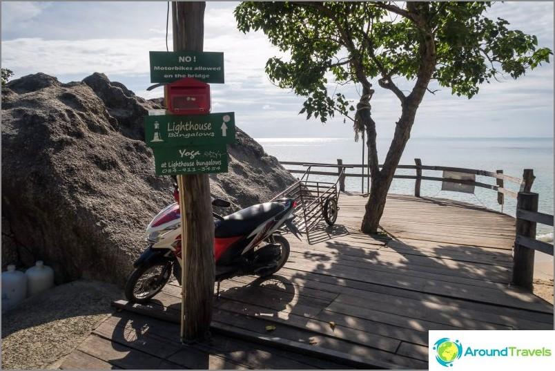Pysäköinti ja siltojen aloittaminen Lilan rannalla