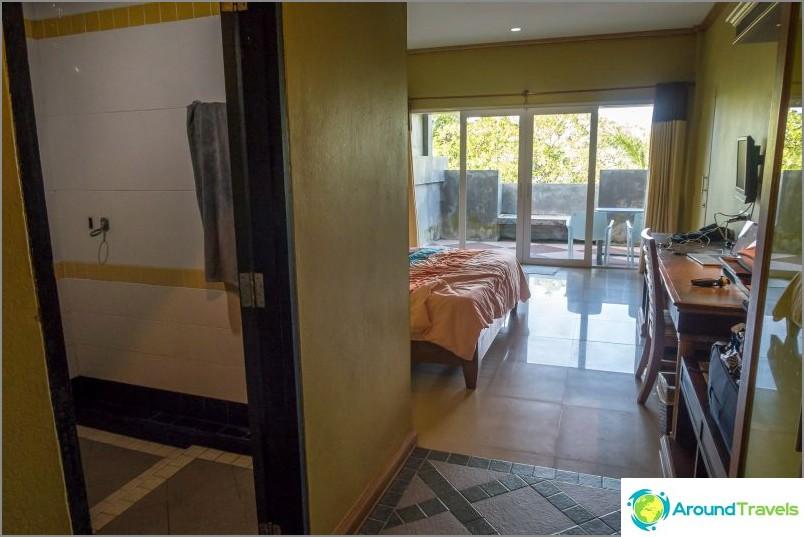 Oma huone Haad Son Resortissa
