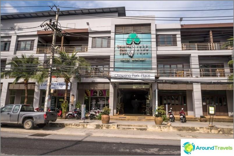 Hotelli kohteessa Chaweng - Chaweng Park Place