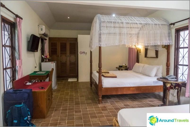 Oma huone Chaweng Resortissa