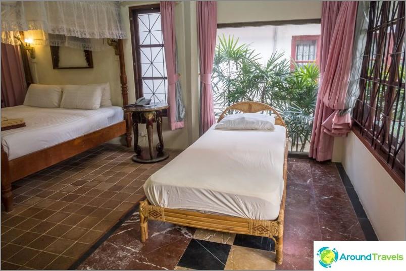 Chaweng Resort - hotelli Chawengissa vanhojen ystäville