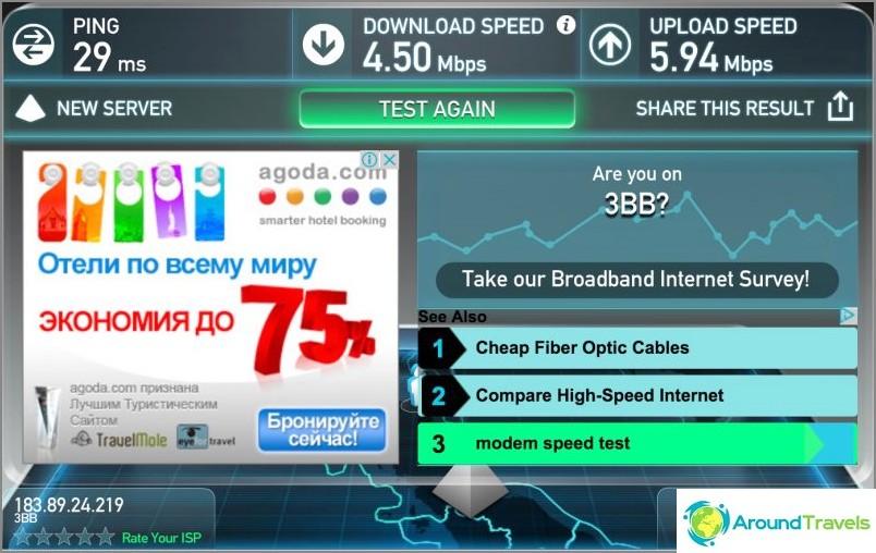 Wifi-nopeus