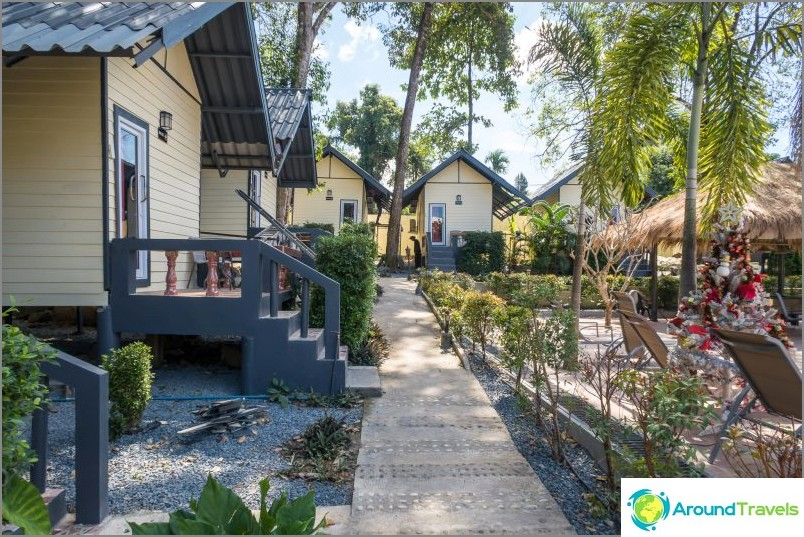 Günstiger Bungalow auf Koh Chang - The White Elephant Resort